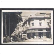 Foto Postal, Petrópolis, Avenida 15 de Novembro, anos 50.