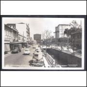 Foto Postal Colombo 24, Petrópolis, Avenida 15 de Novembro, anos 50.