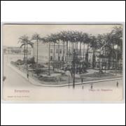 re25 - Cartão postal antigo, Praço do Republico, Pernambuco. Ed. Ramiro M. Costa - Filhos.