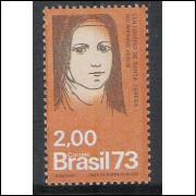 1973 - C-805 - Centenário de Santa Teresa do Menino Jesus. Religião.