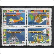1989 - C-1621-24 - 20 Anos da ECT - Serviços Especiais.