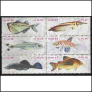 1988 - C-1608-13 - Divulgação da Psicicultura e Aquariofilia. Peixes de água doce. Fauna.