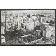 pa07 - Cartão postal antigo, Vista Aérea, Porto Alegre. Canazaro.