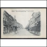 pa11 - Cartão postal antigo, rua - Porto Alegre. Edition da la Mission Brésilienne de Propagande.