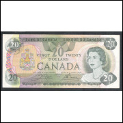 Canada - (P.93) 20 Dollars, 1979, mbc/s. Rainha Elizabeth II.