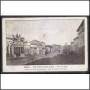 ba01 - Cartão postal antigo, Vila de Bagé. Edition de la Mission Brésilienne de Propagande.