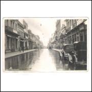 Foto Postal provavelmente anos 30, Curitiba Rua 15 De Novembro.