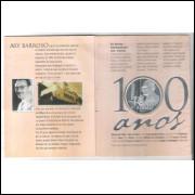 2003 - 2 Reais, Comemorativa Centenário do Aniversário de Ary Barroso (1903-2003), prata