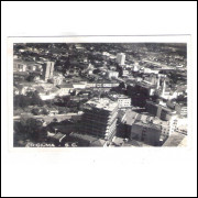 Foto Postal antiga, Criciúma - SC - Vista, provável anos 50