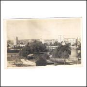Foto Postal antiga, Vista parcial Curitiba, provável anos 50