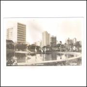 Foto Postal Colombo 40 - Curitiba - Praça Rui Barbosa, anos 60.