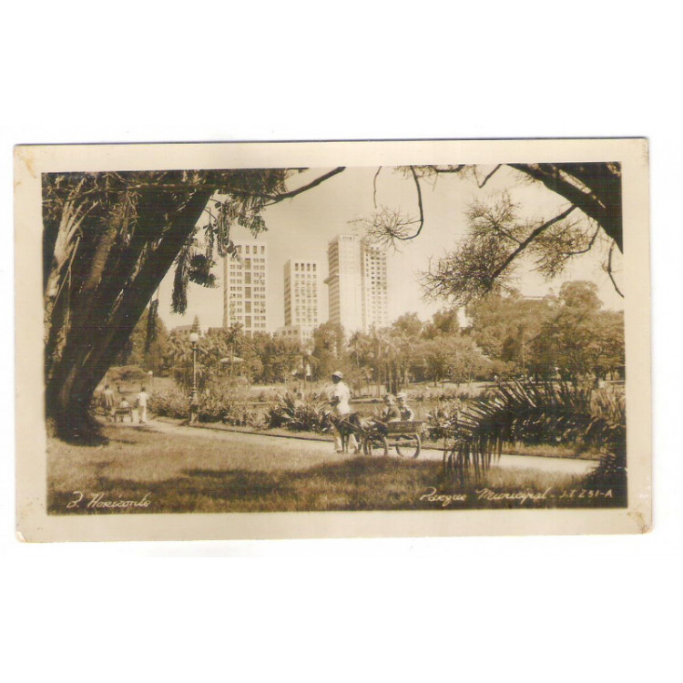 Foto Postal J.T.251-A - Belo Horizonte - Parque Municipal
