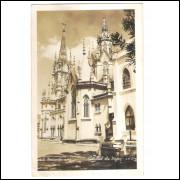 Foto Postal J.T.216 - Belo Horizonte - Catedral Boa Viagem.
