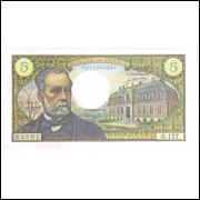 França - (P.146b) 5 Francs, 1970, S/FE.