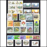 1979 - Coleção dos 50 Selos Comemorativos + 2 blocos, novos.