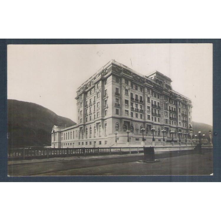 RJ12 - Cartão postal antigo, Copacabana Palace Hotel - Rio de Janeiro.