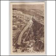 RJ75 - Cartão postal antigo, Igreja Nossa Senhora da Penha, Rio de Janeiro.