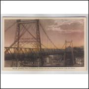 RJ92 - Cartão postal antigo, Ponte Alexandrino, Rio de Janeiro. Ed. N. Viggiani