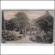 RJ93 - Cartão postal antigo, Passeio Público , Rio de Janeiro. Maison Chic - Botelho - Co.