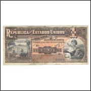 R076 Brasil 1 Mil Réis 9a estampa 1918.