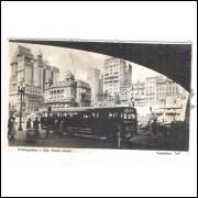 Postal Fotolabor 147 Anhangabaú, Onibus, São Paulo anos 50