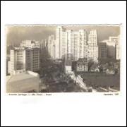 Postal Fotolabor 169 Avenida Ipiranga São Paulo anos 50