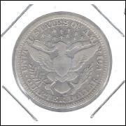 Estados Unidos 1/4 Dollar Quarter Dollar 1908 O Prata