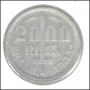 1935 - 2000 Réis, prata, soberba. Caxias.
