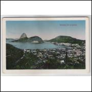 RJ100 - Cartão postal antigo, Botafogo, Rio de Janeiro. Edi. J. S. Affonso.