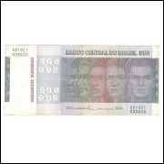 C149 - 500 Cruzeiros, 1974, bc/mbc, Série A01321,  Mário Henrique Simonsen e Paulo H. P. Lira.