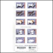 CD24 Caderneta 1998 Brasil Fauna, Raças brasileiras
