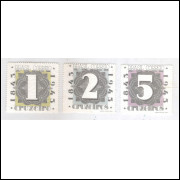AO48/50 - 1943 - Centenário do Selo Postal Brasileiro.