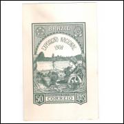 BP-78 - Bilhete Postal de 50 Réis, 1908 Abertura dos Portos às Nações Amigas, novo.