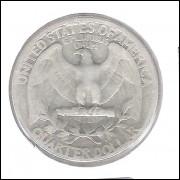 Estados Unidos 1/4 Dollar 1941 Prata .900 Mbc 24mm