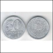 1959 - 50 Centavos, alumínio, FC.