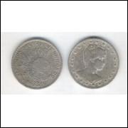 1901 - Brasil, 100 Réis, cuproníquel, mbc.