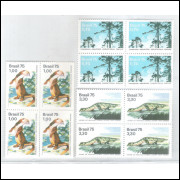 1975 - C-892/4 - Quadras, Fauna e Flora.