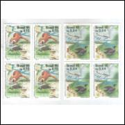 1995 - C-1963/4 - Série em Quadras. Lubrapex. Rio Tietê. Fauna.