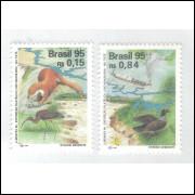 1995 - C-1963/4 - Lubrapex. Rio Tietê. Fauna.