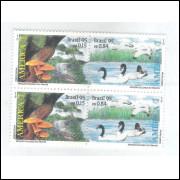 1995 - C-1969/70q - UPAEP. Fauna, Fungos/jacaré e Falsos Cisnes. Estação Ecológica do Taim/RS.