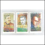 1995 - C-1973/5 - Literatura: Eça de Queiroz, Rubem Braga e Carlos Drummond de Andrade.