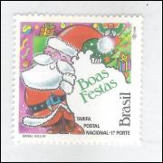 1992 - C-1827 - Natal. Papai Noel. Religião.