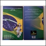 Álbum para moedas do Brasil. Volume 2, De 1976 a 1994.