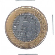 2002 -1 Real, mbc/s, bimetálica (aço e aço revestido de cobre).