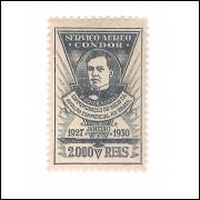 1930 - K-11 - Victor Konder. Novo, com goma, marca de charneira. Belissima peça.
