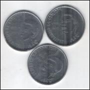 1988 - 100 Cruzados, Comemorativas ao 1o Centenário daa Abolição da Escravatura. Série Axé.