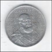 1932 - 2000 Réis, prata, mbc. Comemorativa do 4o Centenário da Colonização. D. João III.