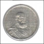 1932 - 2000 Réis, prata, FC. Comemorativa do 4o Centenário da Colonização. D. João III.