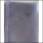 *Folha de acetato para 1 cédula (ou documentos, furação universal. (5 unidades)
