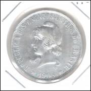 1906 - 2000 Réis, prata, soberba, Brasil-República.